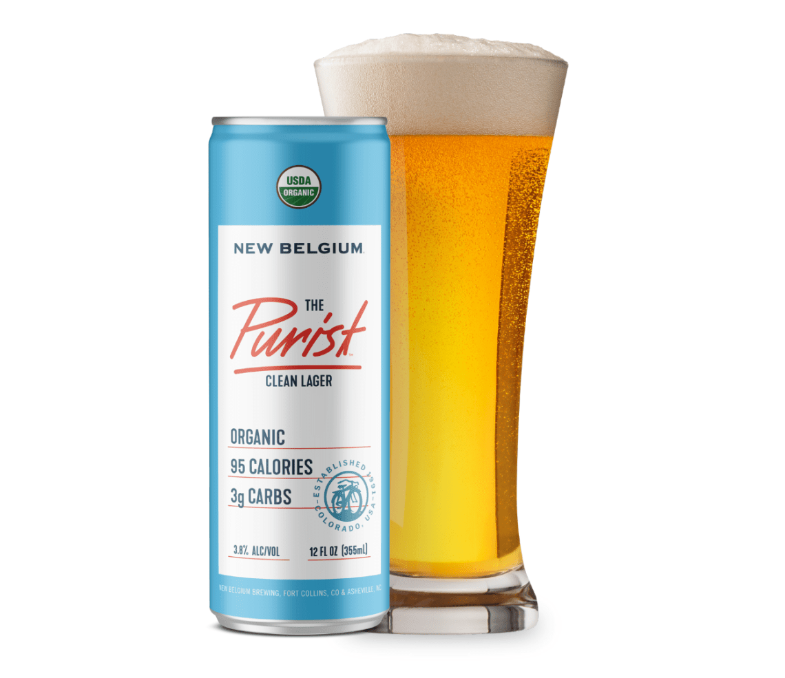 New Belgium The Purist Clean Lager