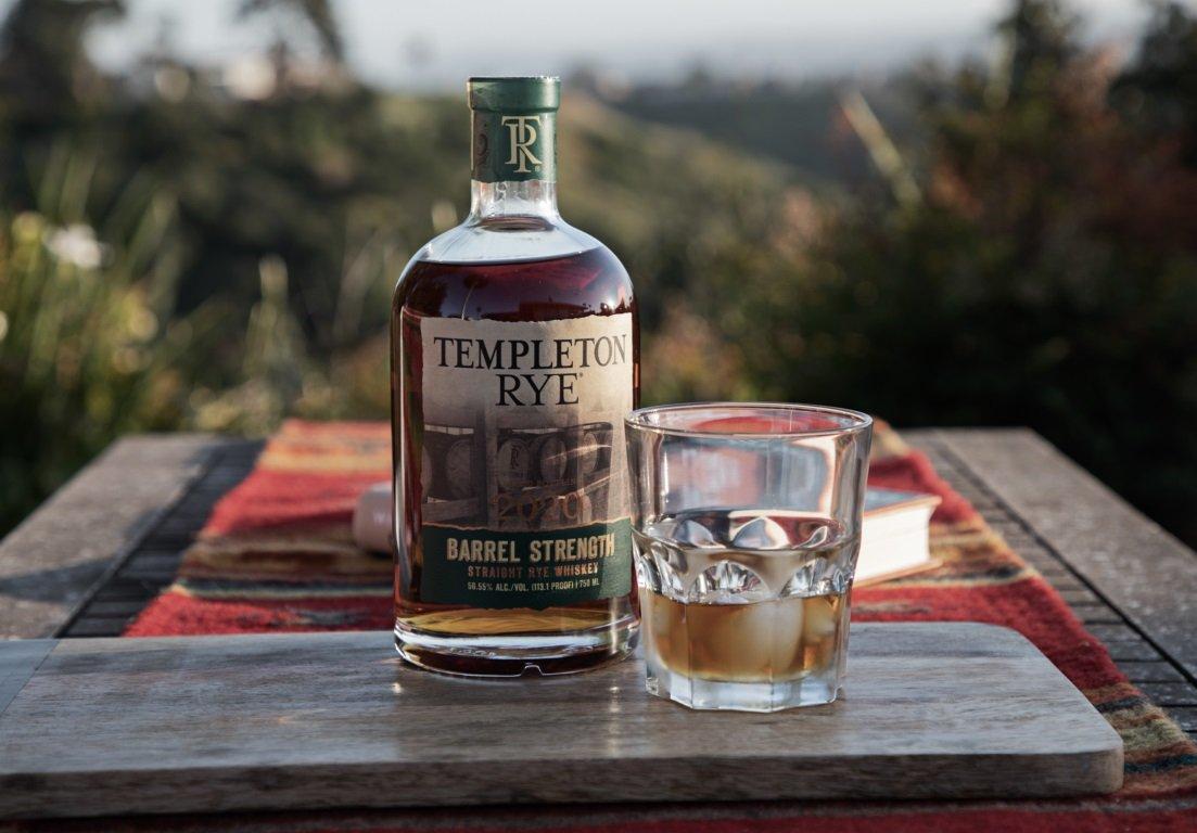 Templeton Rye Barrel Strength 2020