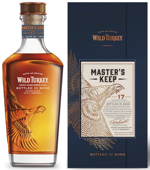 Wild Turkey Master's Keep Bourbon 17 Years Old Bottled in Bond