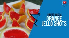Jello Shots in Oranges