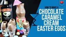 Chocolate Caramel Cream Easter Cocktail