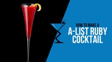 A-List Ruby Cocktail
