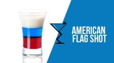 American Flag Shot