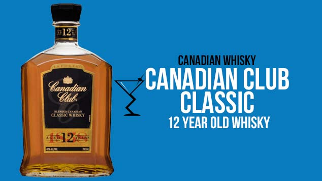 Canadian Club Classic 12 Year Old Whisky