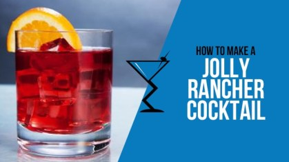 Jolly Rancher Cocktail