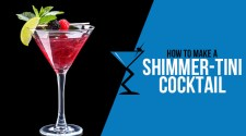 Shimmertini Cocktail
