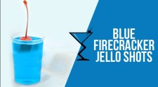 Blue Firecracker Jelly Shots