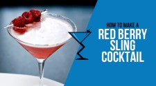 Red Berry Sling Cocktail