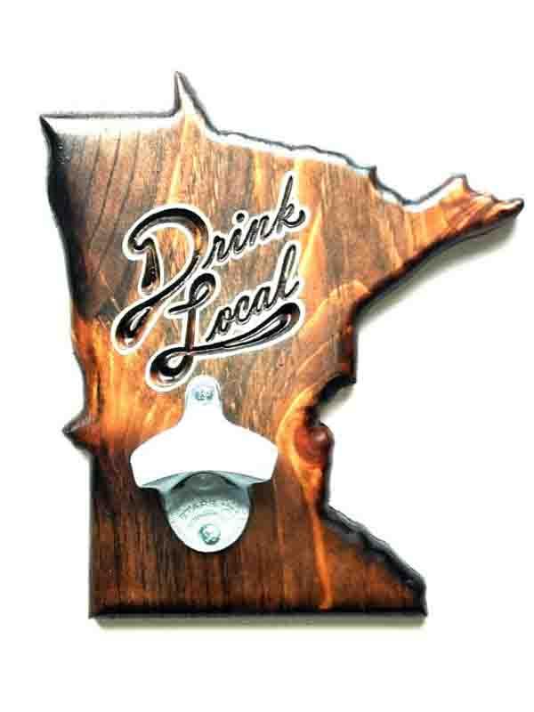 Minnesota bottle opener