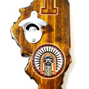 University of Illinois Bottle Opener