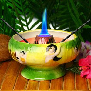 Flaming Volcano Bowl 36oz / 1.1ltr