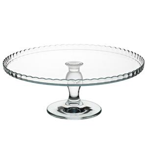 Utopia Patisserie Upturn Glass Cake Stand 12.5inch / 32cm