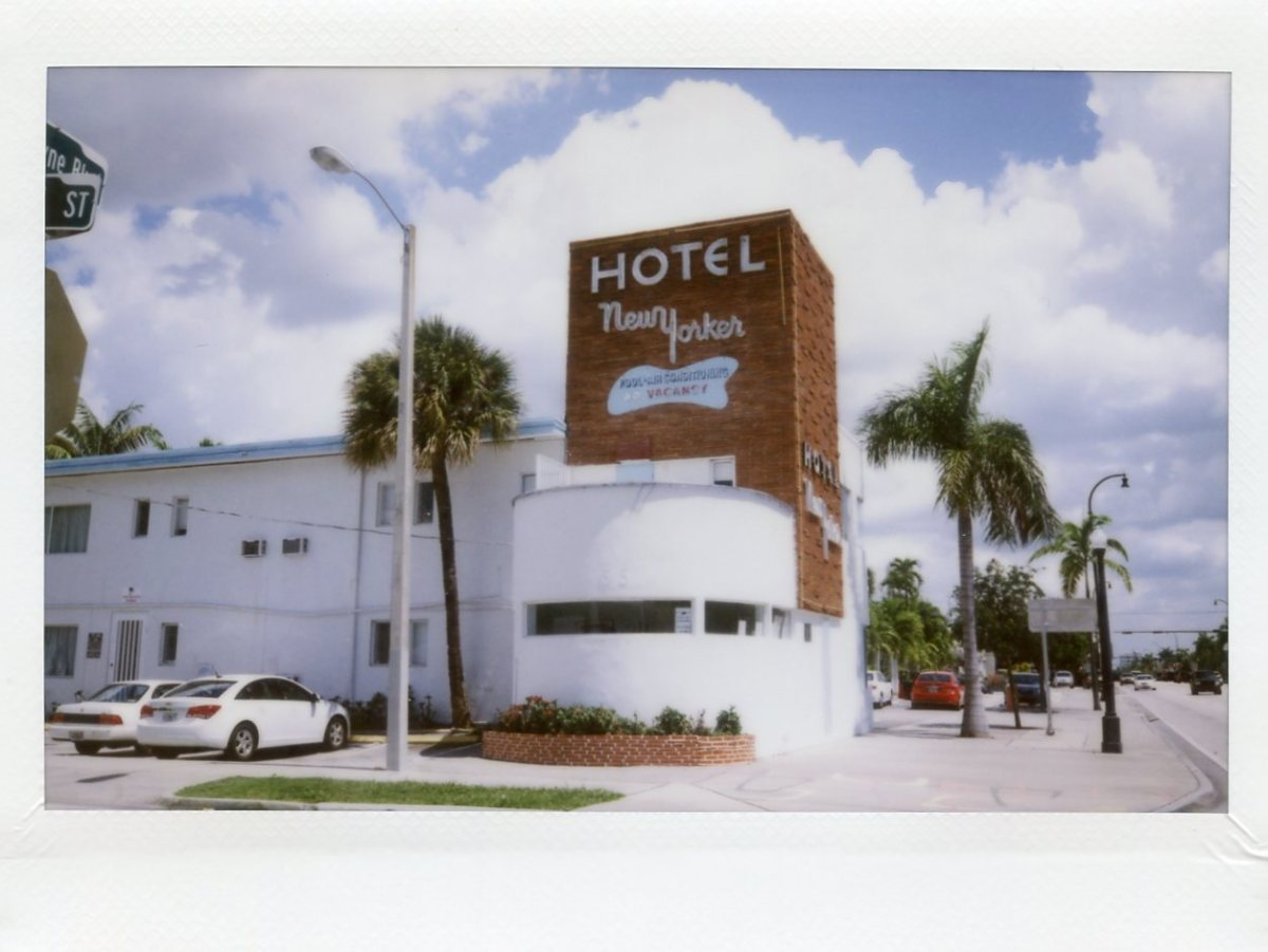 Hotel New Yorker (Formerly Motel) MIMO District Biscayne Boulevard. Photo by Phillip Pessar via Flickr CC