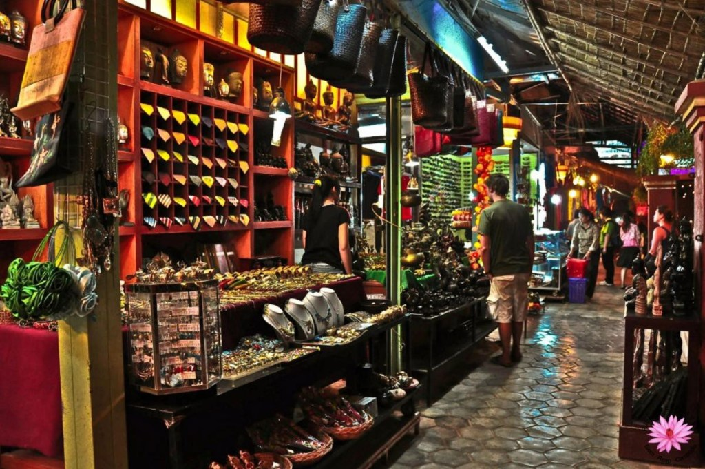 Siem Reap's Night Market - things to do in Cambodia