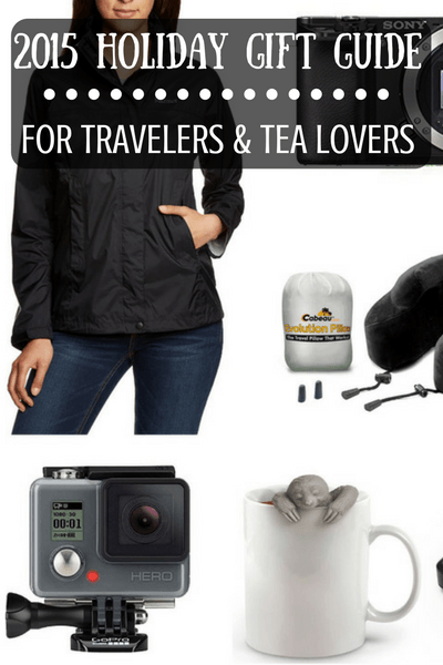 2015 Holiday Gift Guide for Travelers & Tea Lovers