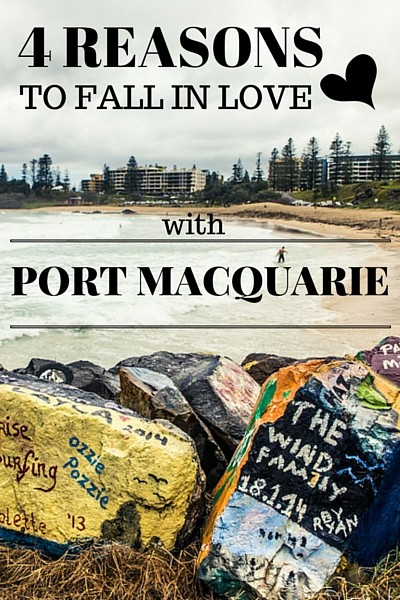 Port Macquarie's laid back friendly vibe made us feel right at home, but that was only one of the reasons I fell in love with this small town on the Pacific Coast.