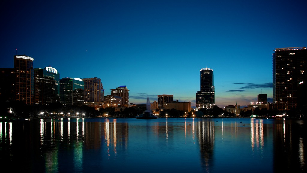 Downtown Orlando. Photo by Benjamin Thompson via Flickr CC