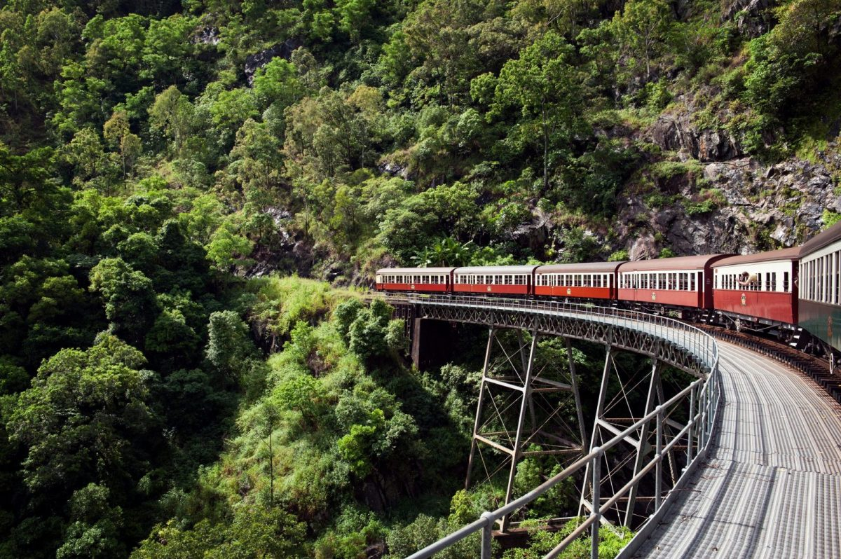 Things to do in Port Douglas Australia: Kuranda Scenic Railway