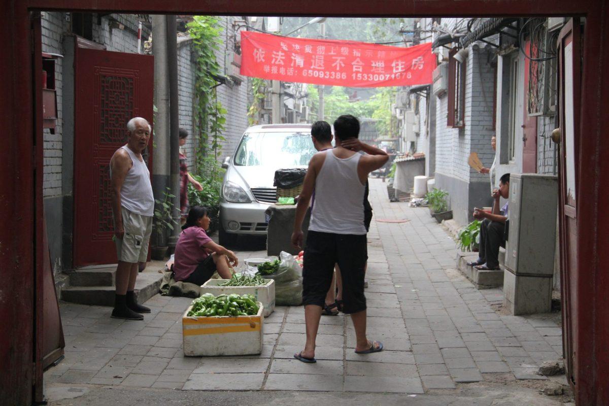 Beijing Hutong. Photo by Seba Della y Sole Bossio via Flickr CC