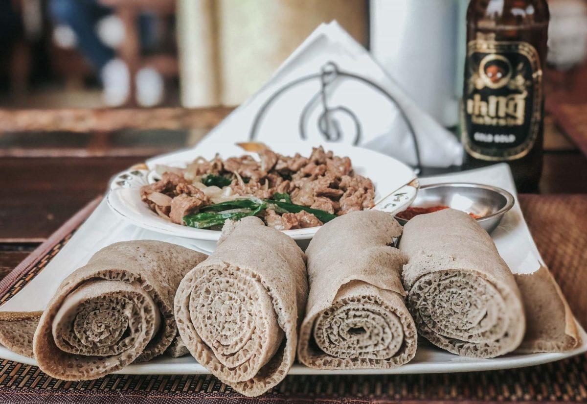 Ethiopian food: Injera, the main ingredient in every Ethiopian dish