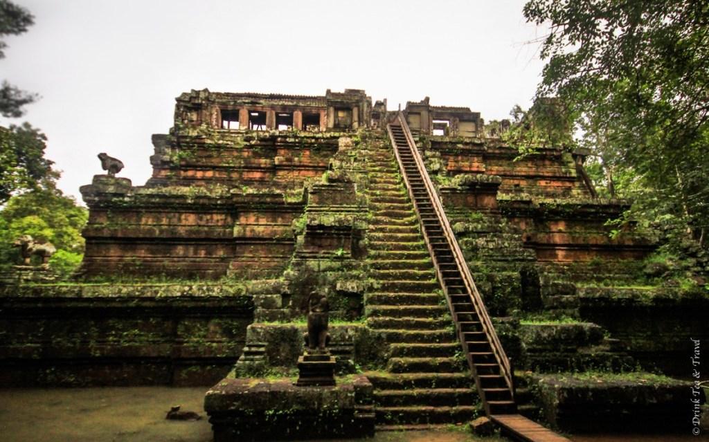 Inside Angkor Thom: Phimeanakas Temple
