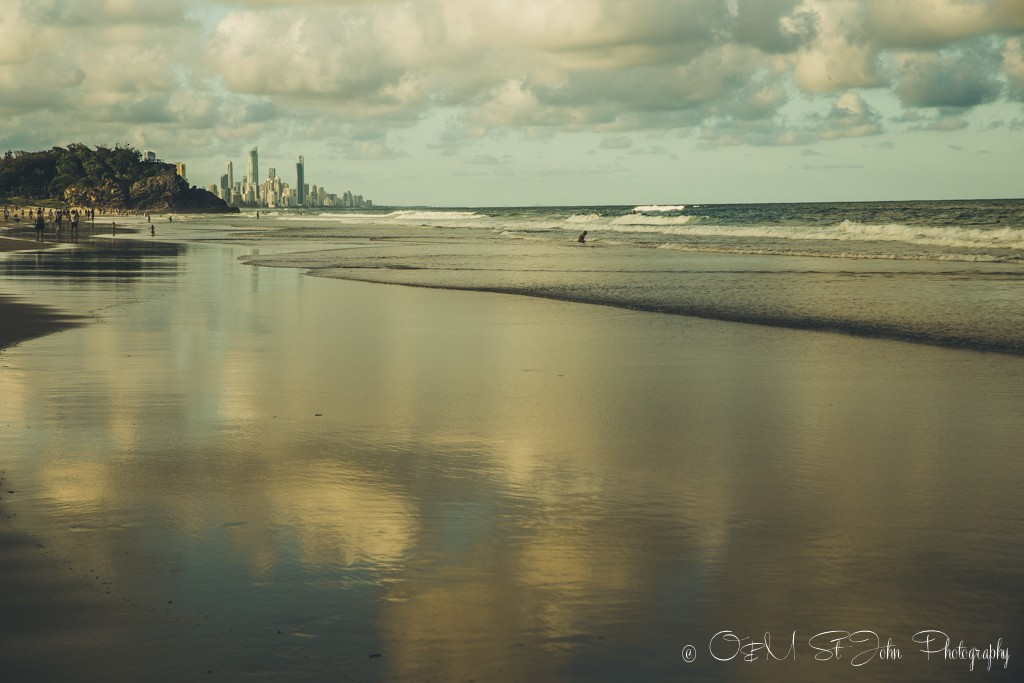Burleigh Heads Beach, Gold Coast, QLD