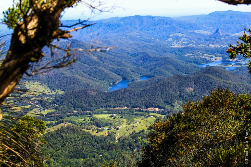 Views from Mount Warning, Queensland, Australia