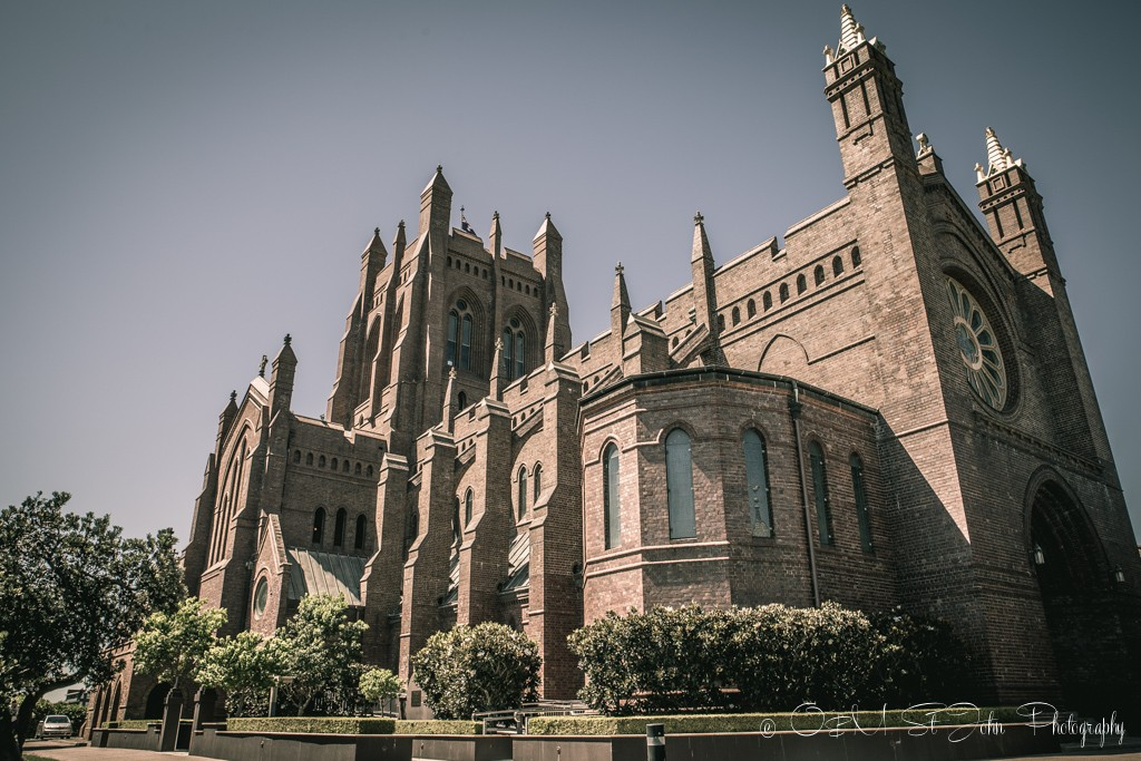 Christ Church Cathedral, Newcastle, NSW. Australia