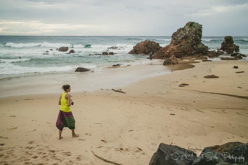 Early morning exploring with camera in hand. Flynn's Beach. Port Macquarie