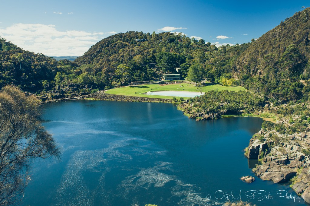 The magnificent Cataract Gorge in Launceston, Tasmania