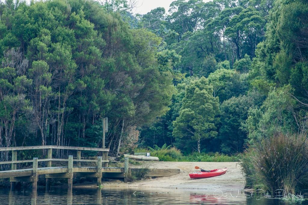 Your kayak awaits. Pierman River.
