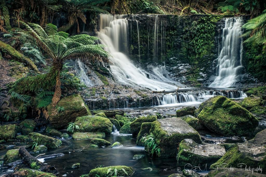 Horseshoe Falls, Mt Fields National Park, Tasmania.