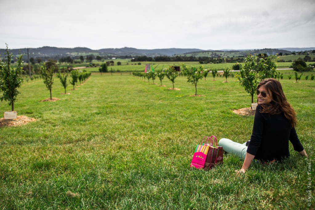 Best Travel Moments of 2014: Admiring the views of Yarra Valley from Yarra Valley Chocolaterie & Ice Creamery