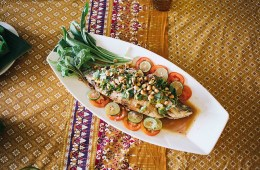 Bangkok FishLimeSauce. Must Try Asian Dishes