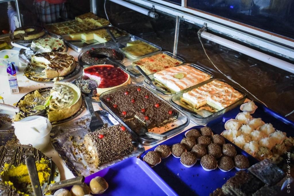 Brazilian dessert cart