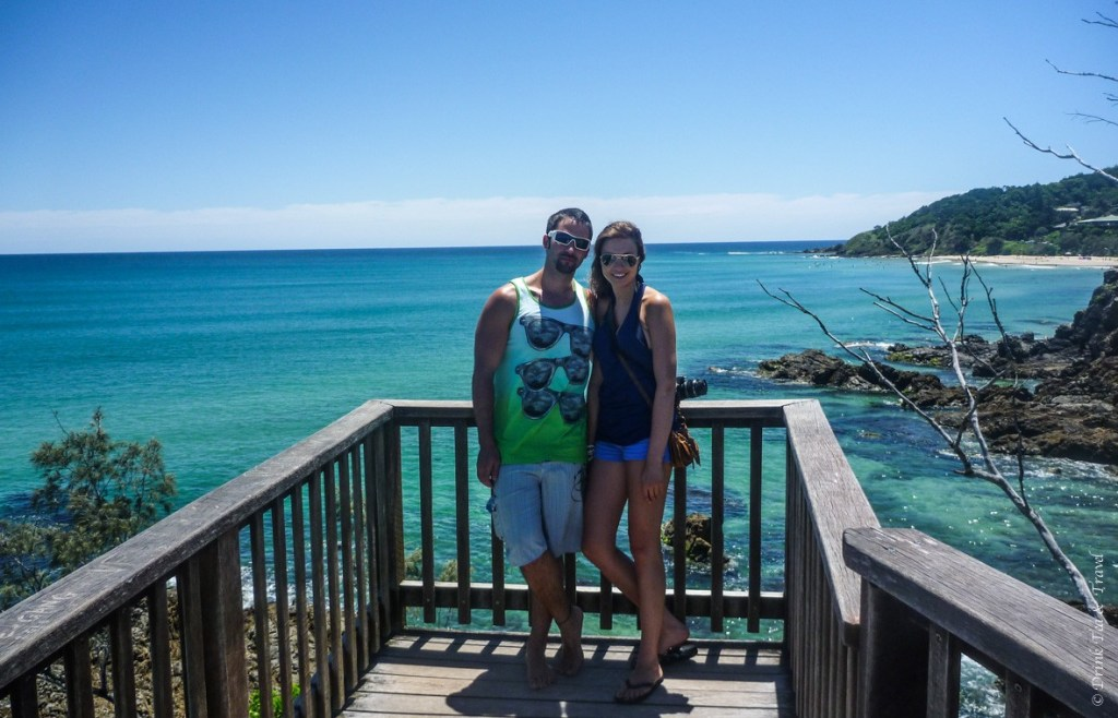 Max and I in Byron Bay in 2010