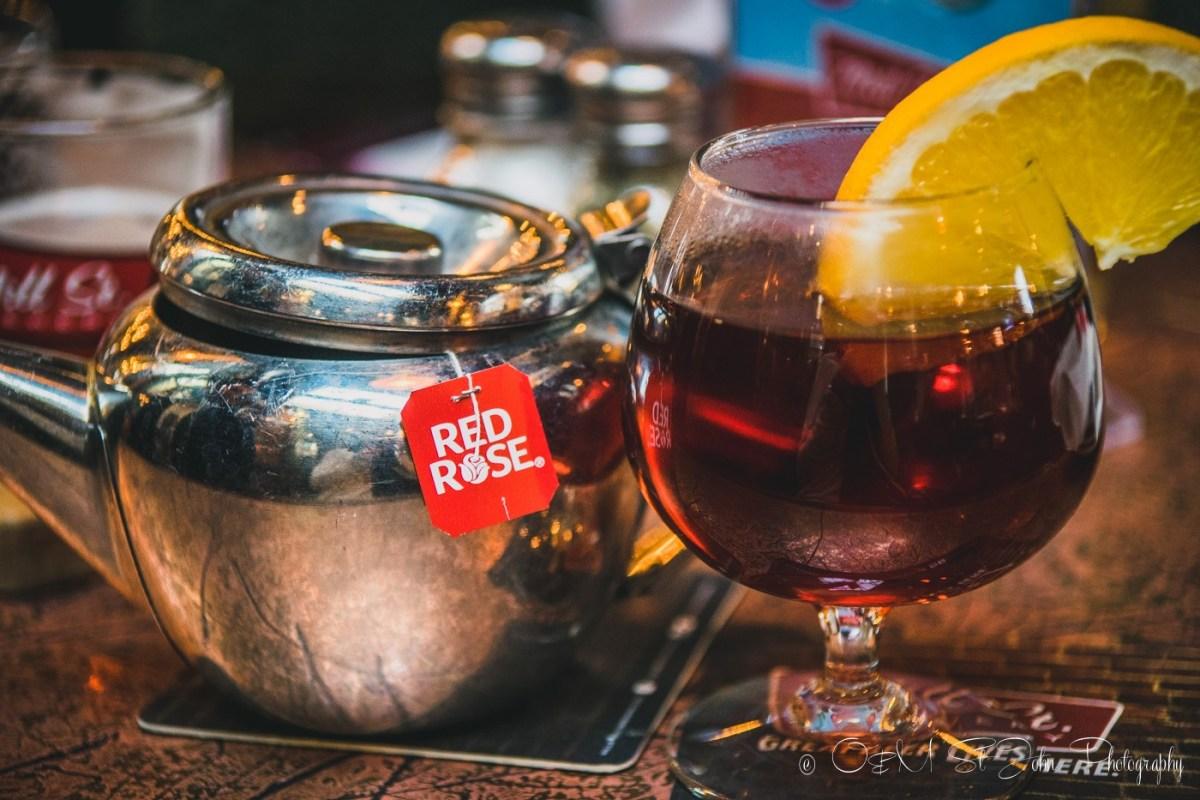 Blueberry Tea, Toronto. Canada