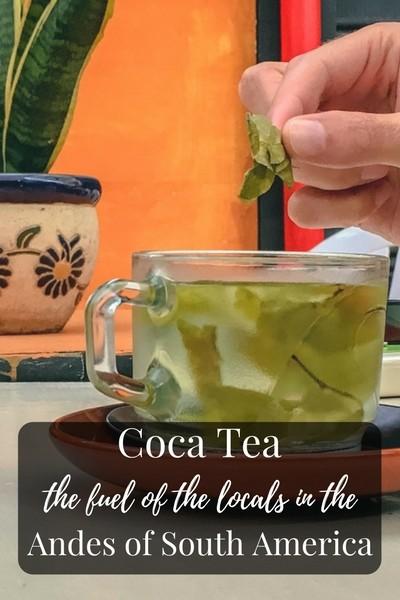 Coca Tea (Mate de Coca), the fuel of the locals in the Andes