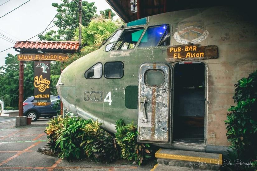 El Avion Restaurant, Manuel Antonio, Costa Rica