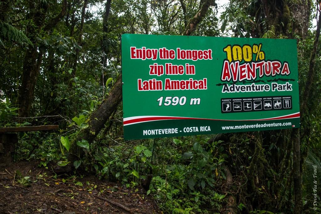 Reasons to visit Monteverde Cloud Forest: Aventura Adventure Park