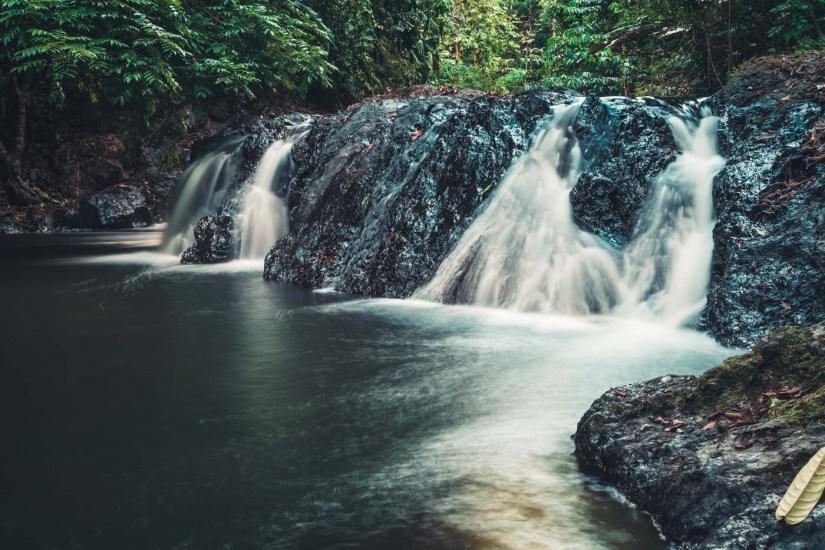 Costa Rica Osa Corcovado waterfall-7992