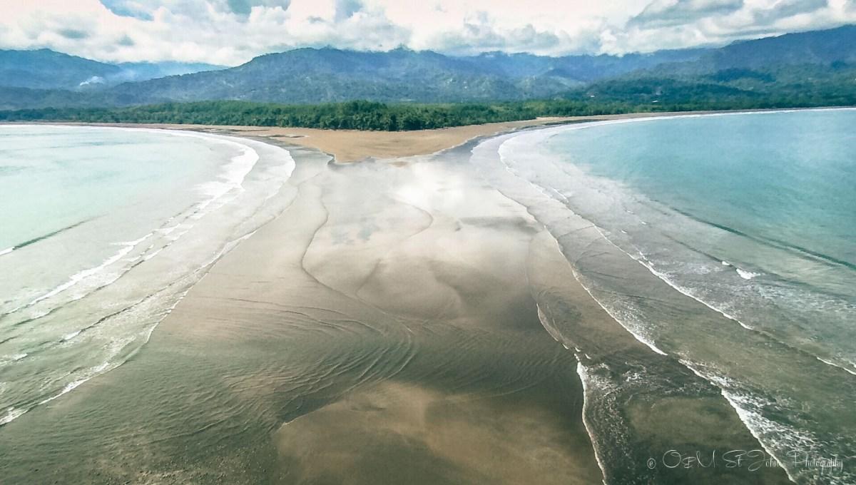 Marina Ballena National Park, view from Playa Uvita, Puntarenas