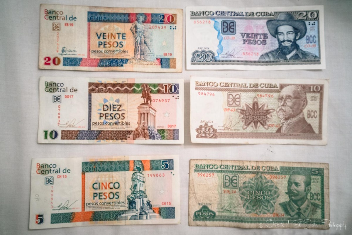 Cuba travel tips: money in Cuba CUC and CUP