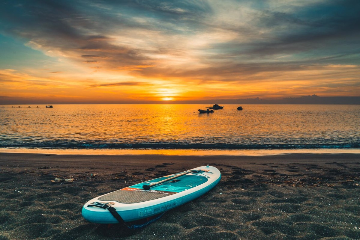 Sunset on Floreana Island
