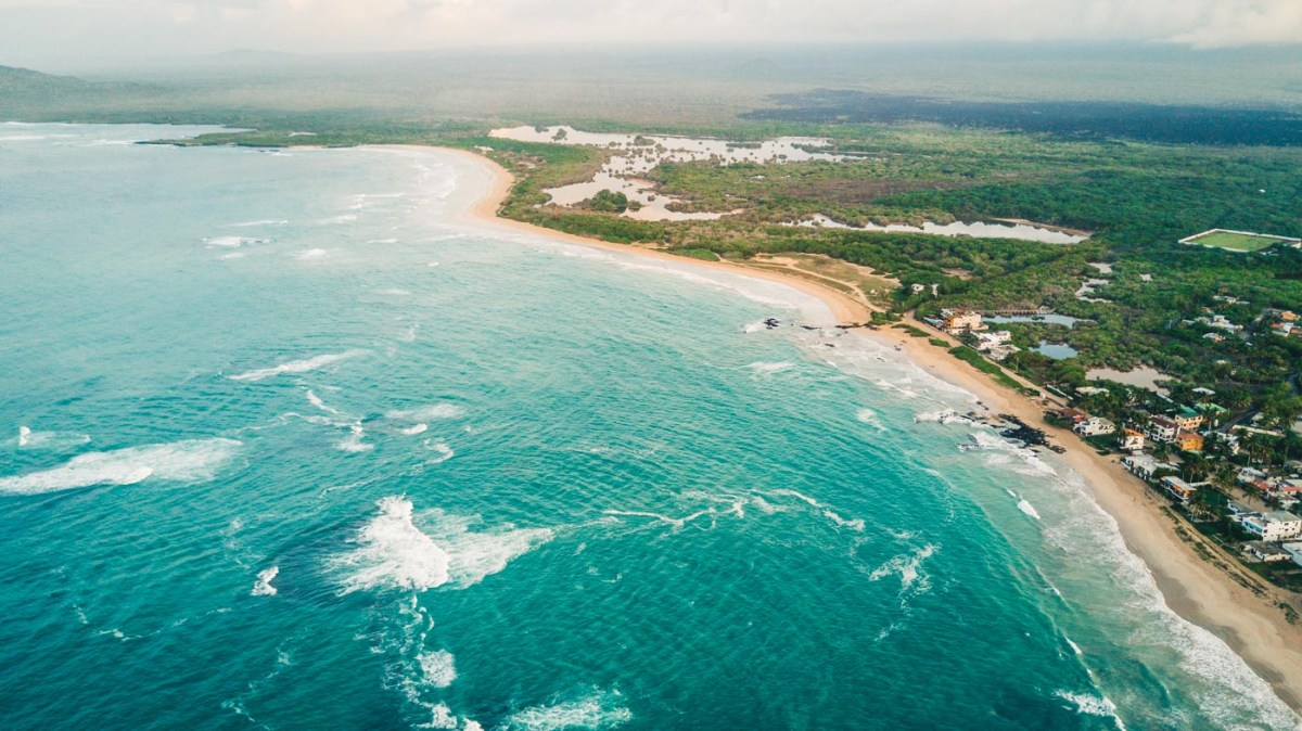 Isabela from above