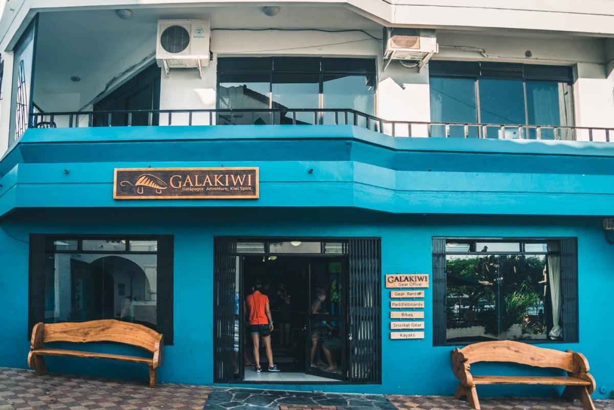 Galakiwi's office on San Cristobal Island
