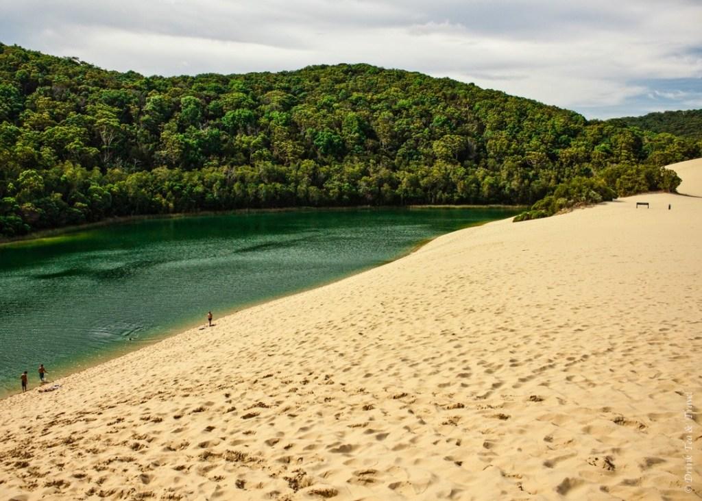 Fraser Island Tour: Lake Wabby
