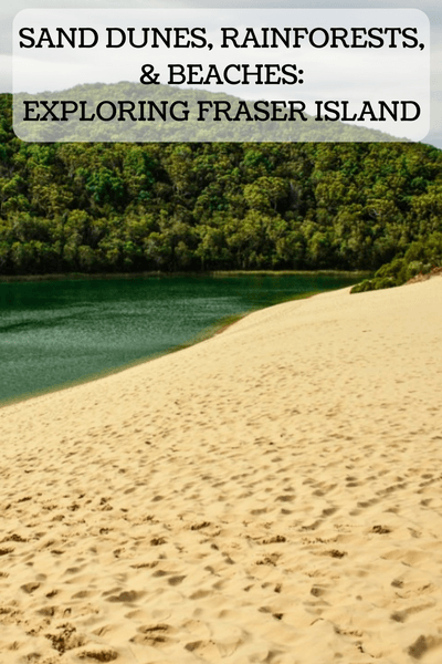 Fraser Island is the largest sand island IN THE WORLD and a UNESCO World Heritage Site. How will you choose to explore? Fraser Island Tour or 4WD?