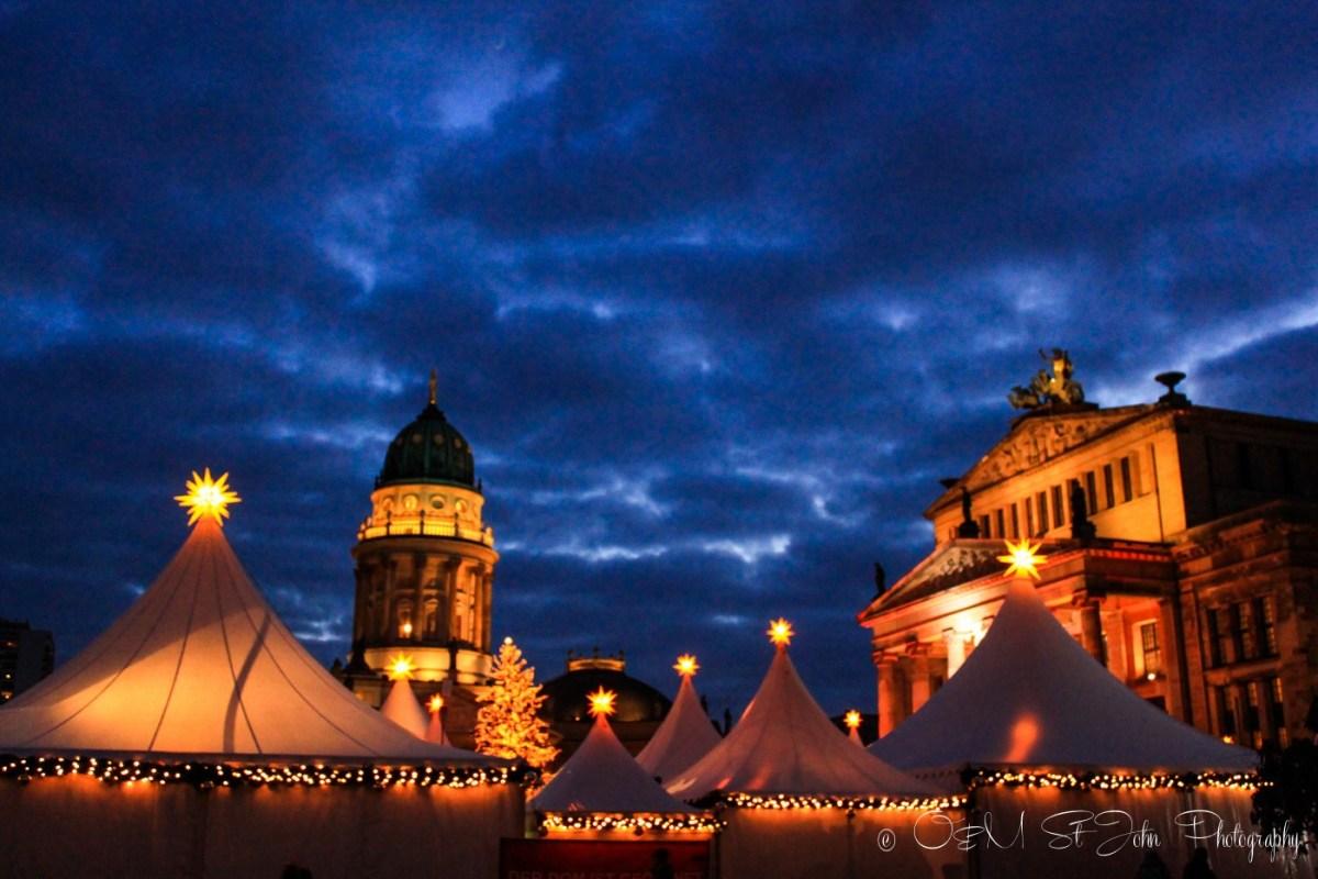 Christmas market in Berlin. Germany