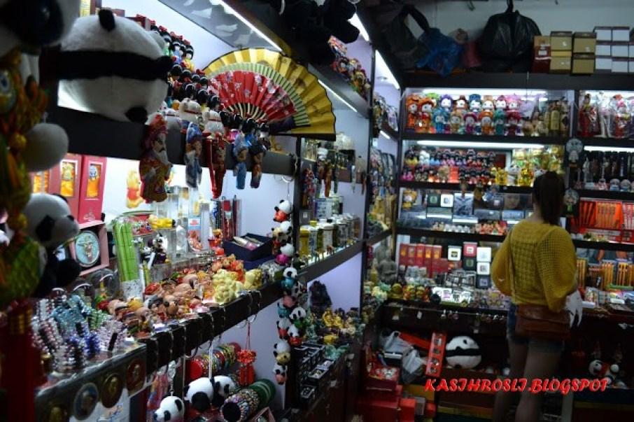 Souvenir Shop inside Hancity Fake Market, Shanghia